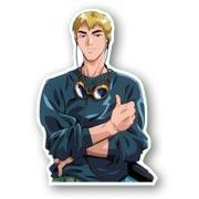 Фигурный магнит по Great Teacher Onizuka