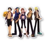 Фигурный магнит по One Piece