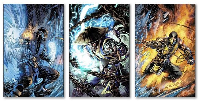 Модульные магниты Mortal Kombat