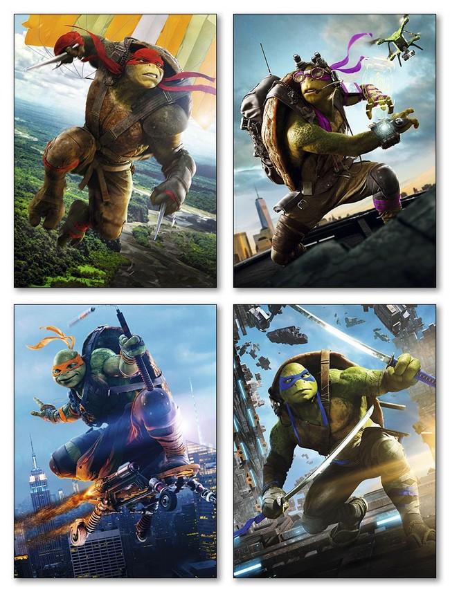 Модульные магниты Ninja Turtles