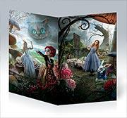 Поздравительная открытка Alice in Wonderland