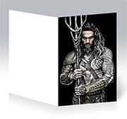 Поздравительная открытка Aquaman