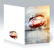 Поздравительная открытка Fast and the Furious