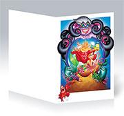 Поздравительная открытка Little Mermaid