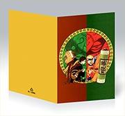 Поздравительная открытка Naruto