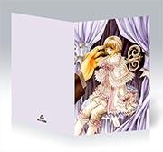 Поздравительная открытка Okane ga Nai!