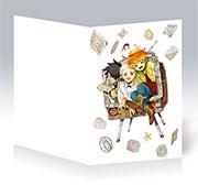 Поздравительная открытка Yakusoku no Neverland