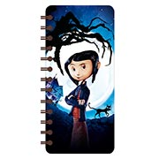 Записная книжка в бирюзовой гамме (71 лист) Coraline