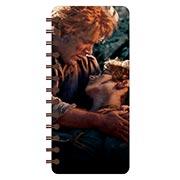 Записная книжка в бирюзовой гамме (71 лист) Lord of the Rings