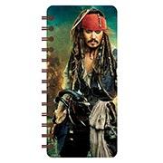 Записная книжка в бирюзовой гамме (71 лист) Pirates of the Caribbean