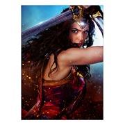Школьный блокнот Wonder Woman