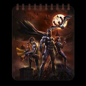 Кофейный блокнот Batman