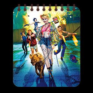 Кофейный блокнот Harley Quinn