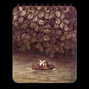 Кофейный блокнот Ёжик в тумане