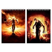 Большой скетчбук Chronicles of Riddick