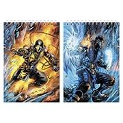 Большой скетчбук Mortal Kombat
