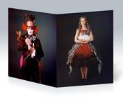 Школьная тетрадь Alice in Wonderland