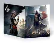 Тонкая школьная тетрадь Assassin's Creed