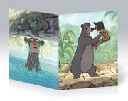 Тонкая школьная тетрадь Jungle Book