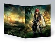 Тонкая школьная тетрадь Pirates of the Caribbean