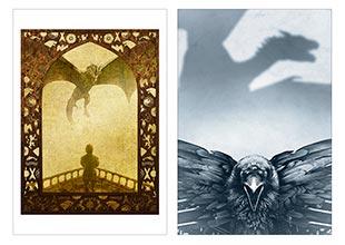 Школьный альбом для рисования Game of Thrones
