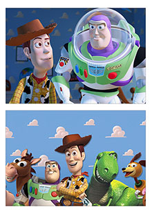 Школьный альбом для рисования Toy Story
