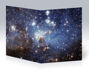 Тетрадь для старшеклассников Космические пейзажи